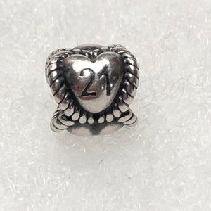 21 Sterling Charm
